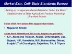 market extn cell state standards bureau