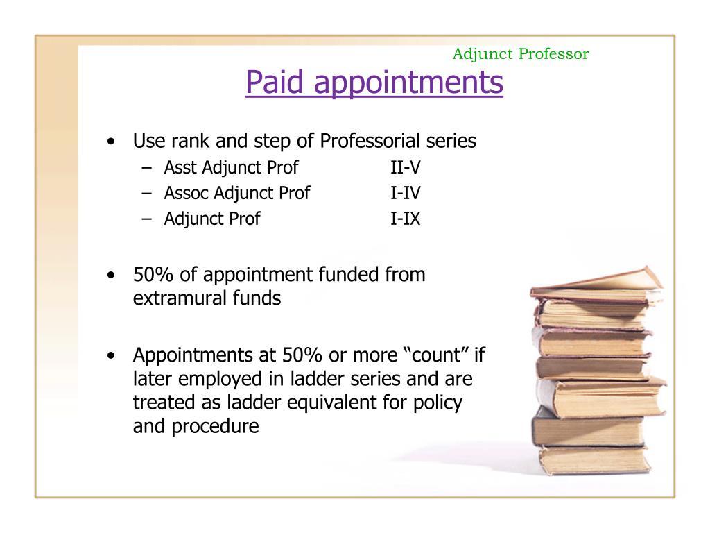 Adjunct Professor