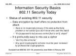information security basics 802 11 security today9