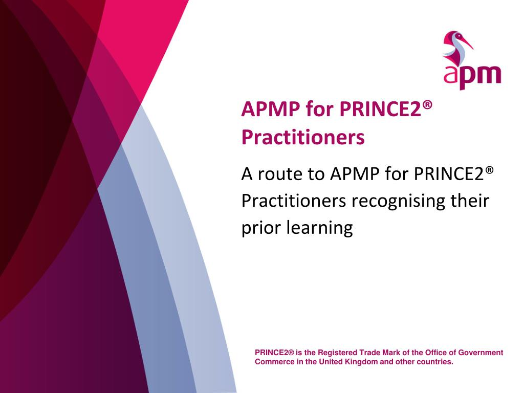 APMP for PRINCE2® Practitioners