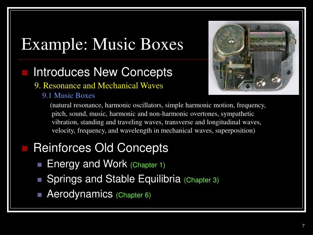 Example: Music Boxes