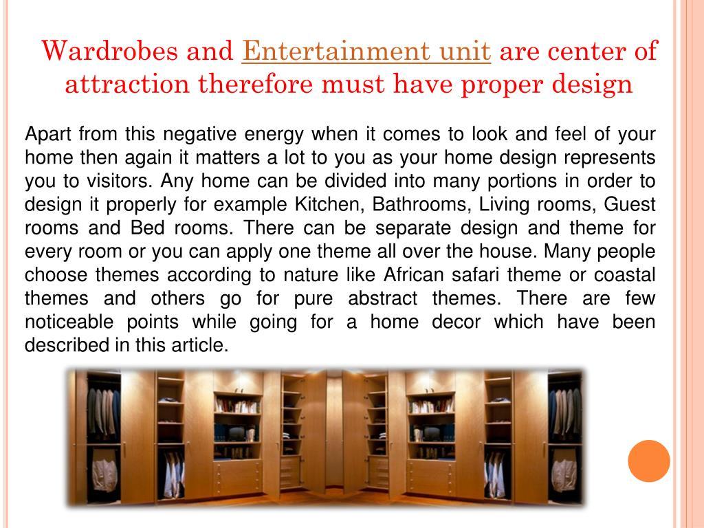 Wardrobes and