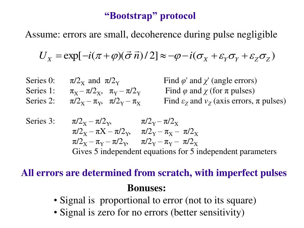 """Bootstrap"" protocol"