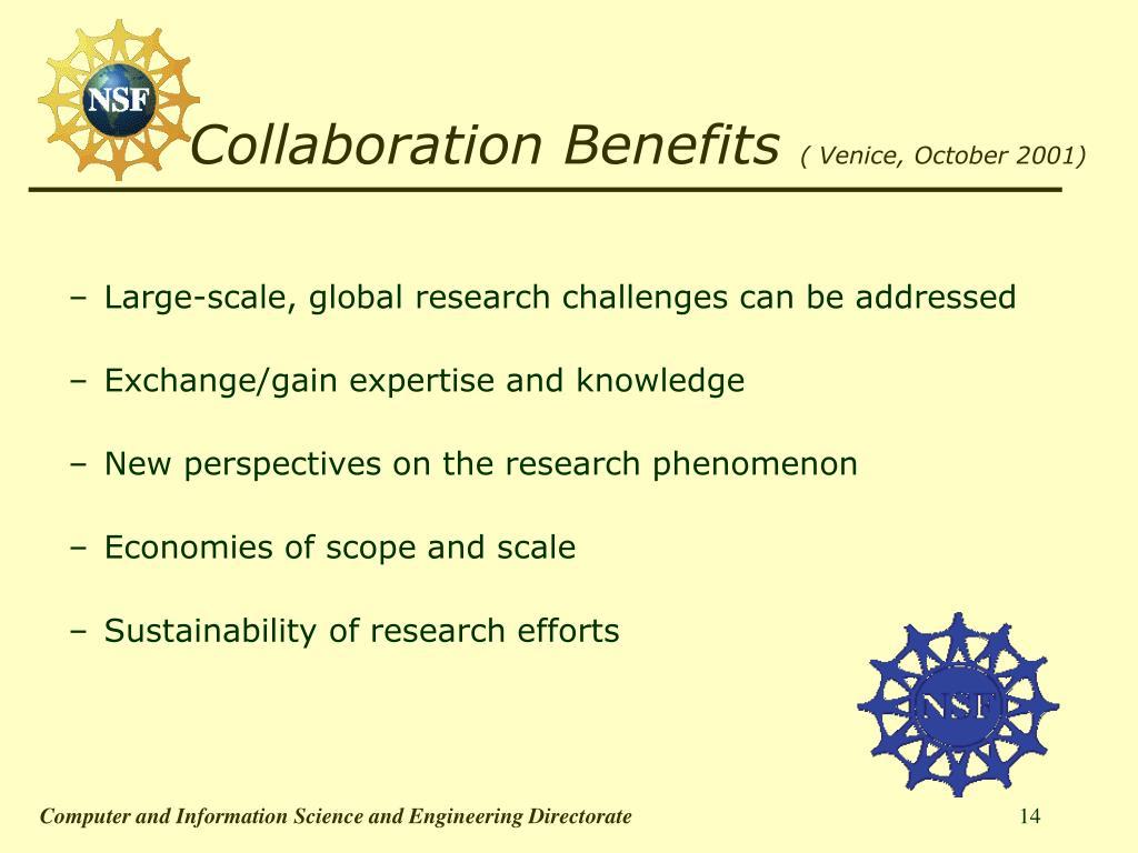 Collaboration Benefits