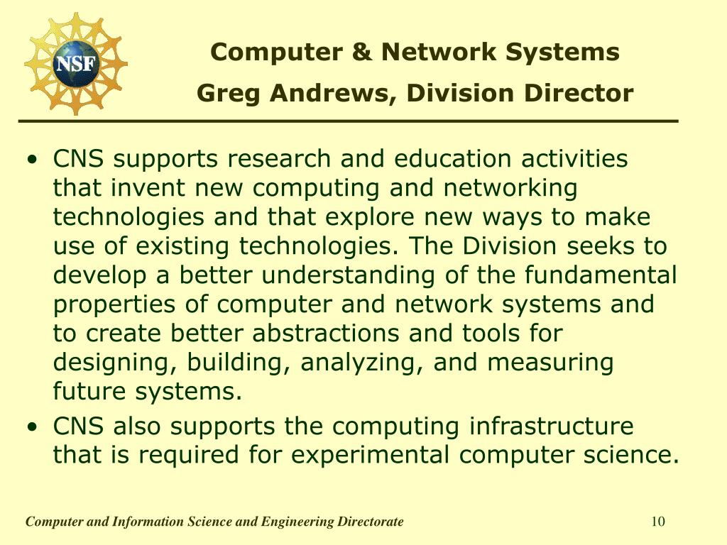 Computer & Network Systems
