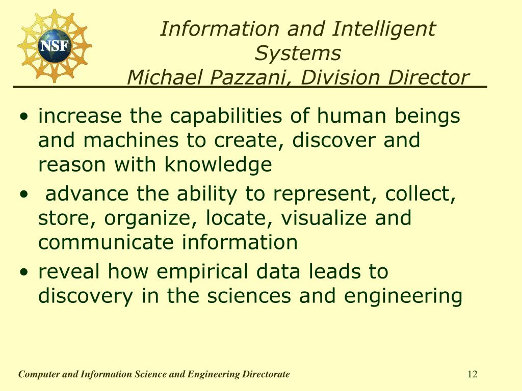 Information and Intelligent Systems