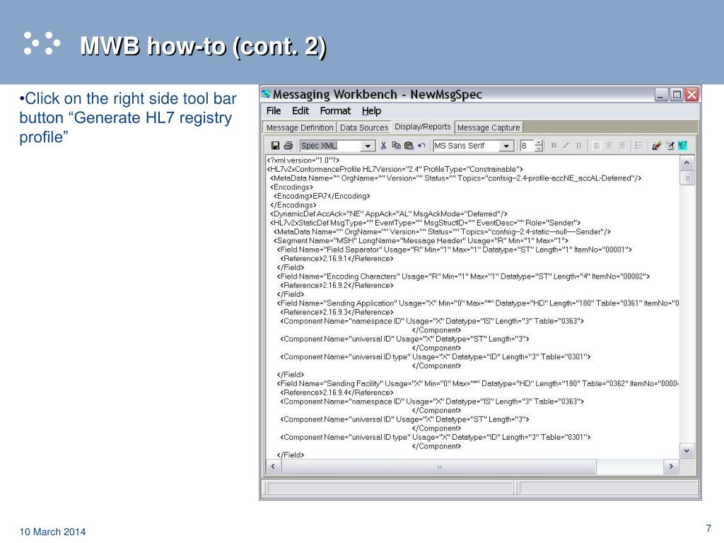 MWB how-to (cont. 2)