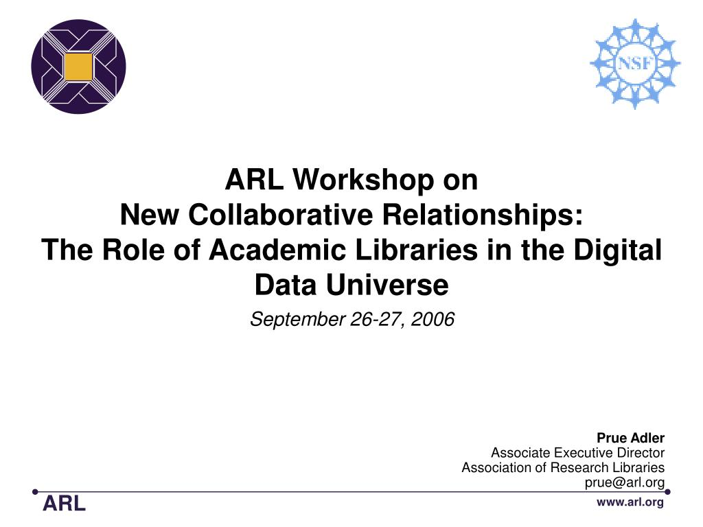 ARL Workshop on