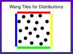 wang tiles for distributions22