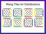 wang tiles for distributions23