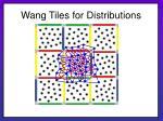 wang tiles for distributions24