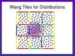 wang tiles for distributions25