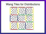 wang tiles for distributions26