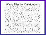 wang tiles for distributions27