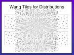 wang tiles for distributions28