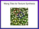 wang tiles for texture synthesis12