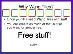 why wang tiles