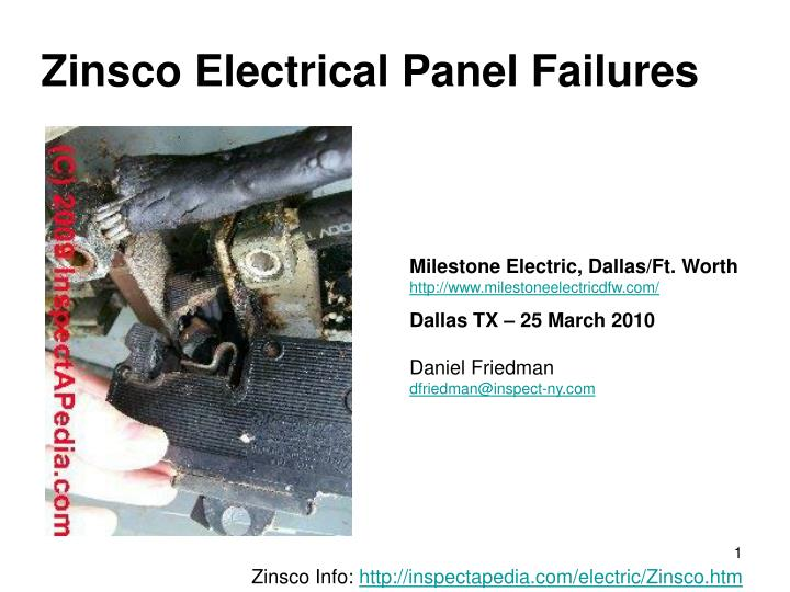 zinsco electrical panel failures