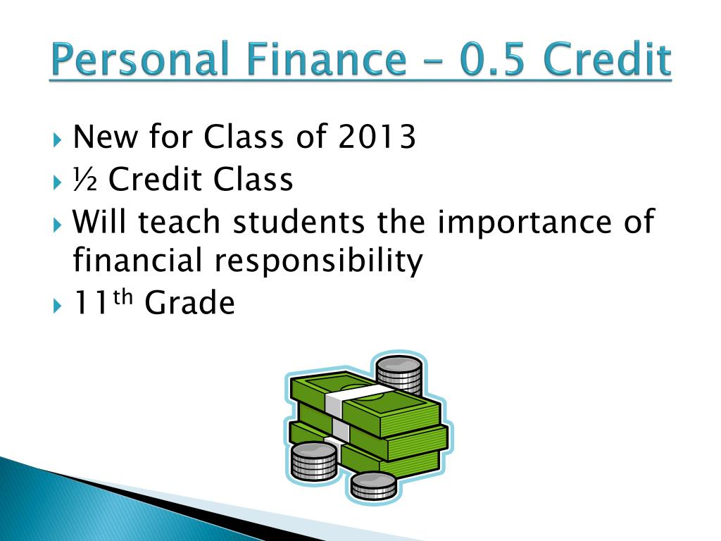 Personal Finance – 0.5 Credit