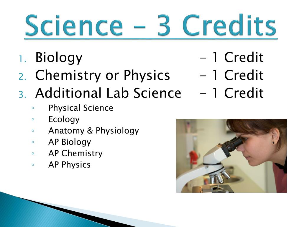 Science – 3 Credits