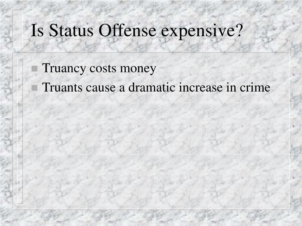 Is Status Offense expensive?