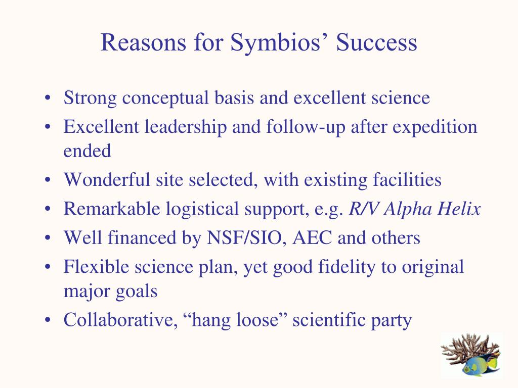 Reasons for Symbios' Success