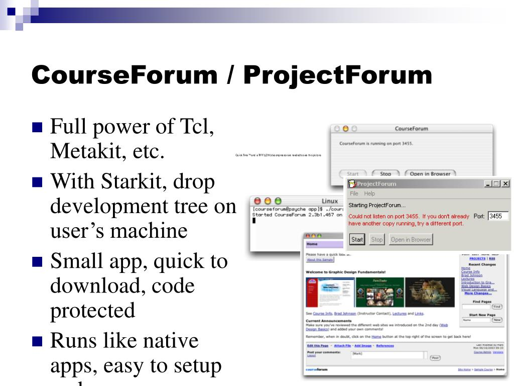 CourseForum / ProjectForum