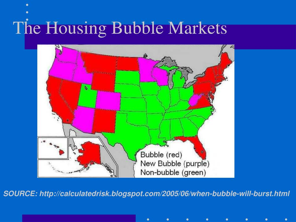 The Housing Bubble Markets
