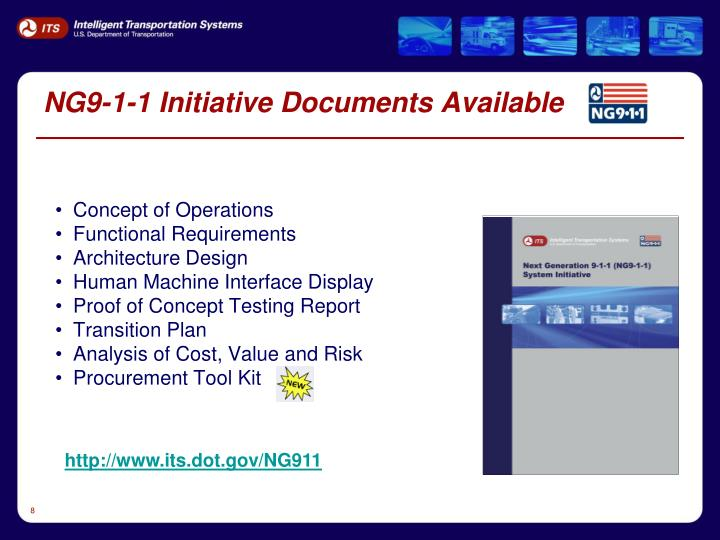 NG9-1-1 Initiative Documents Available