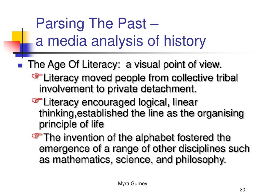 Parsing The Past –