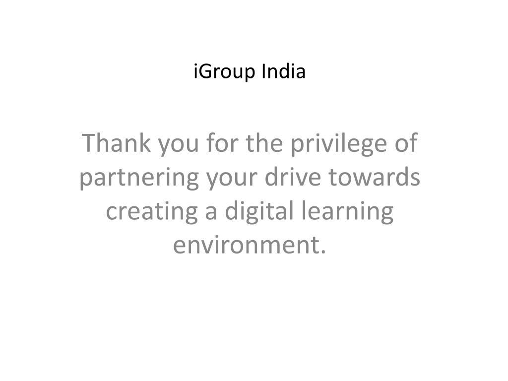iGroup India
