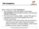 p25 compliance