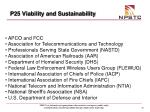 p25 viability and sustainability43