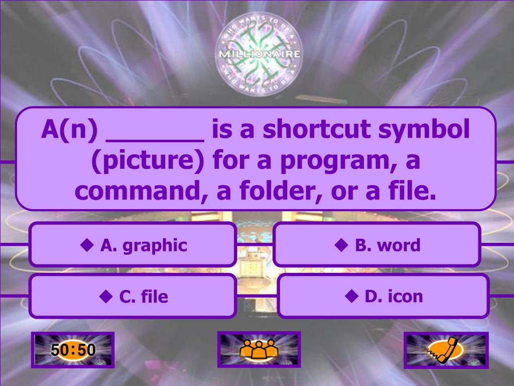 A(n) ______ is a shortcut symbol (picture) for a program, a command, a folder, or a file.