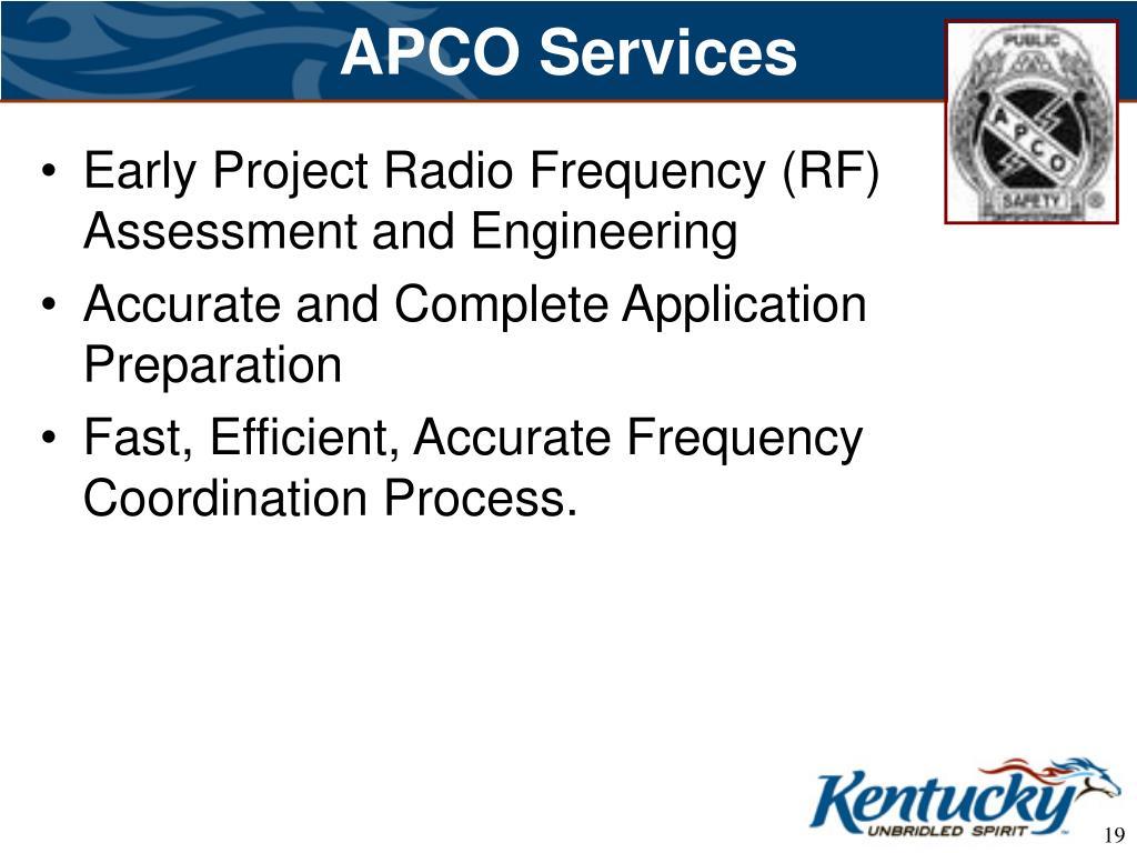 APCO Services