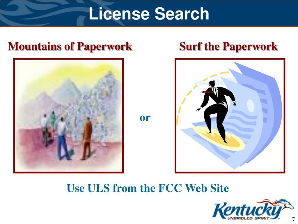 License Search