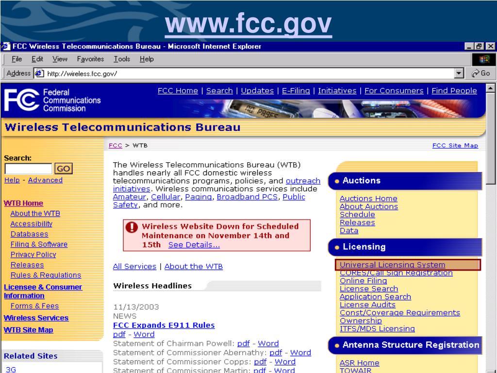 www.fcc.gov