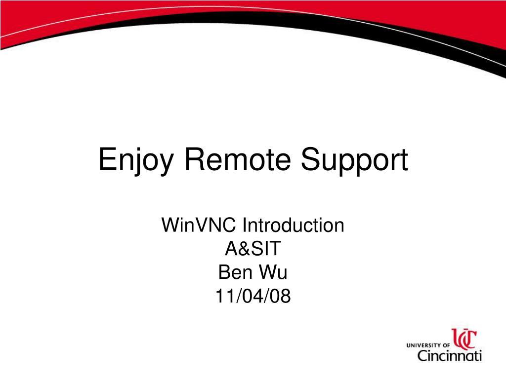 Enjoy Remote Support