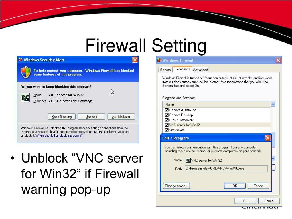 Firewall Setting