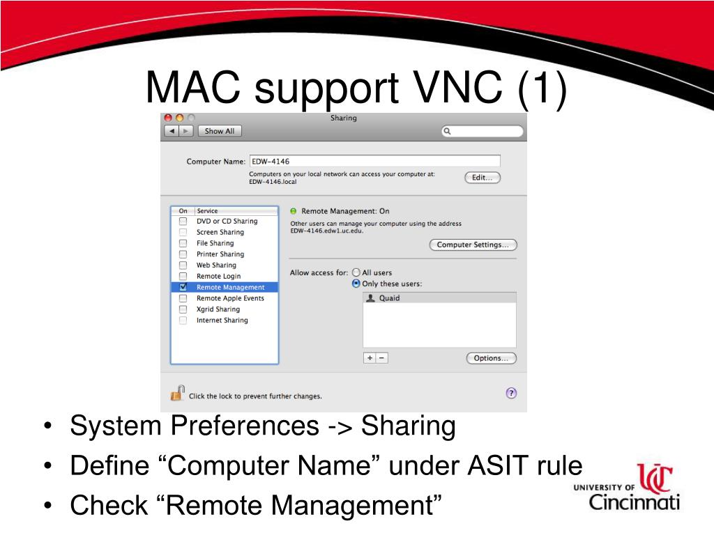 MAC support VNC (1)