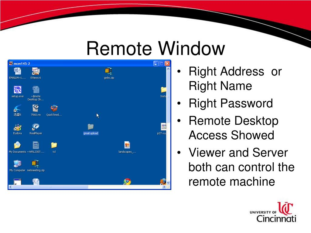 Remote Window