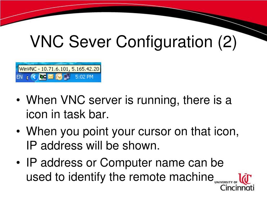 VNC Sever Configuration (2)