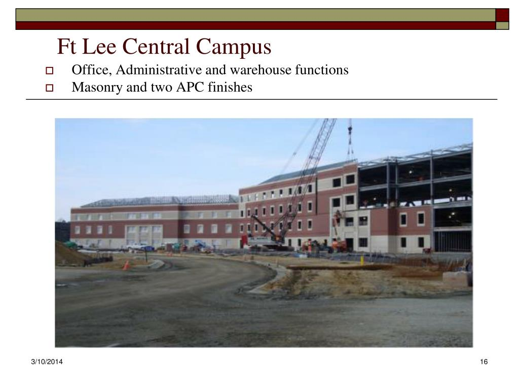 Ft Lee Central Campus