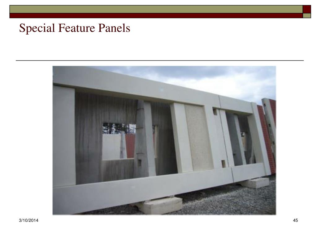 Special Feature Panels