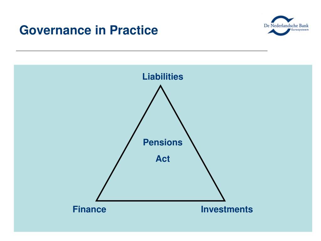 Governance in Practice