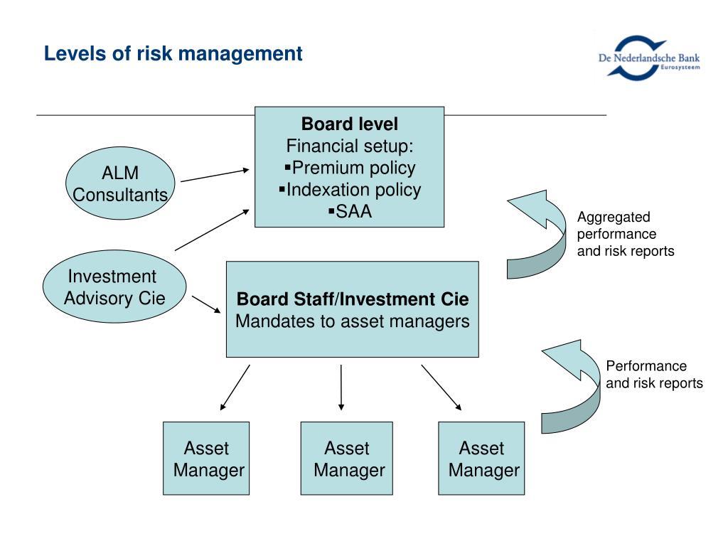 Levels of risk management