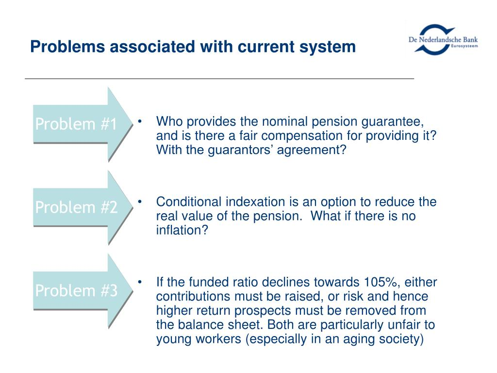 Who provides the nominal pension guarantee, and is there a fair compensation for providing it? With the guarantors' agreement?