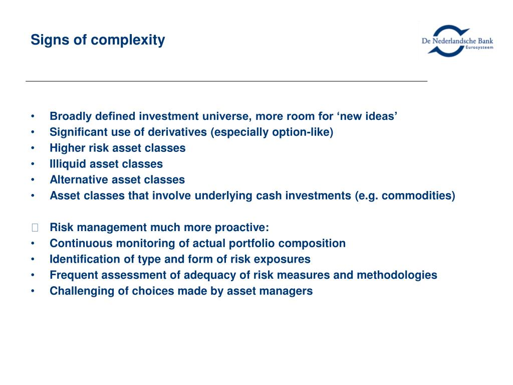 Signs of complexity
