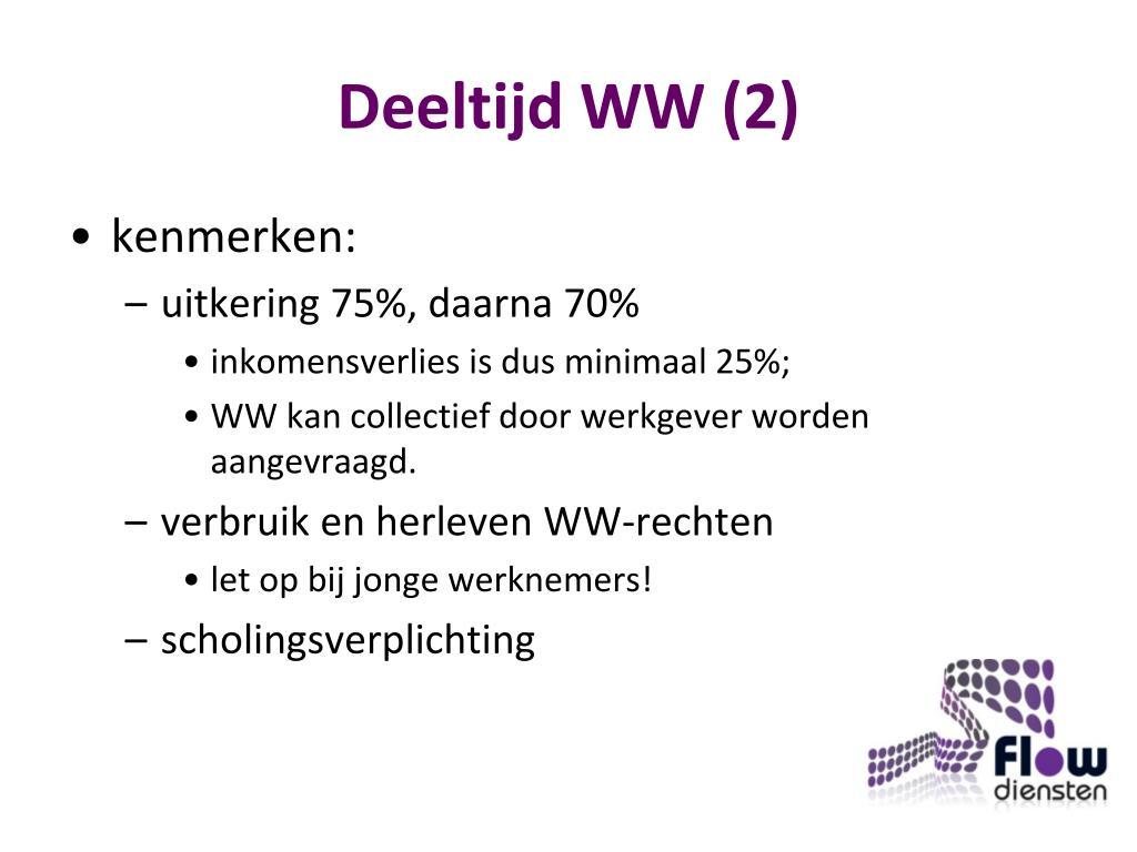 Deeltijd WW (2)