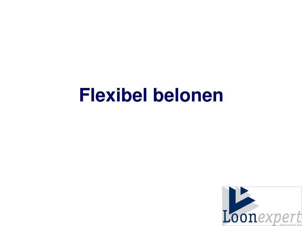 Flexibel belonen